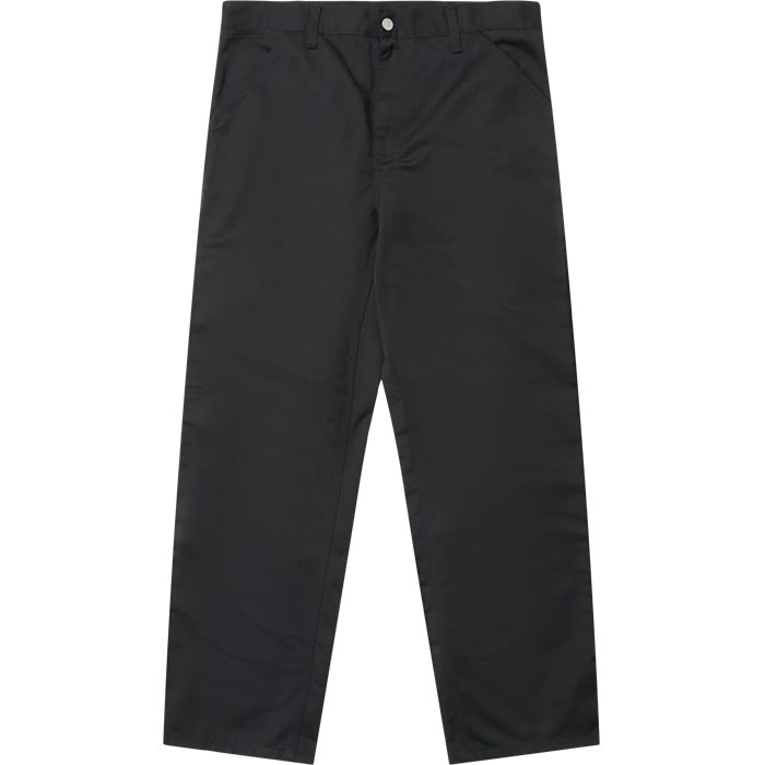 Simple Pant - Trousers - Straight fit - Black